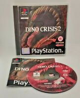 Dino Crisis 2 Video Game for Sony PlayStation PS1 PAL TESTED