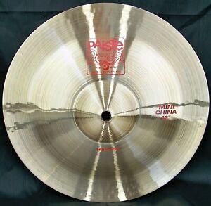 "Paiste 2002 12"" Mini China Cymbal/New-Warranty/Model # CY0001069912/Custom Shop!"