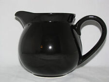 Black Pitcher 36oz Waechtersbach German Stoneware New