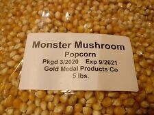 5 lb Gold Medal Monster Mushroom Bulk Packed Popcorn Kernels. Kettle Corn Yummm!