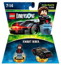 LEGO Dimensions Fun Pack Knight Rider Supercar 71286 IT IMPORT LEGO