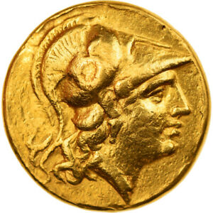 [#856284] Coin, Kingdom of Macedonia, Alexander III, Stater, 325-320 BC, Gold
