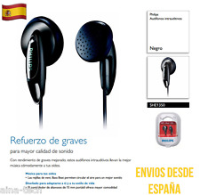 Auriculares PHILIPS SHE1350 Rejillas BASS BEAT Súper Sonido