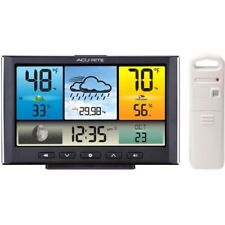 AcuRite Digital Weather Station / Weather Clock with Color Display (02098)