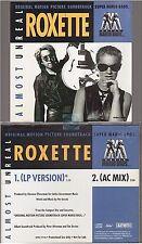 Roxette almost unreal cd promo usa mario bros soudtrack ost soundtrack