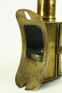 =Antique 1800's Nautical Lamp E.O.T SIDELIGHT  Early & RARE for Steamship