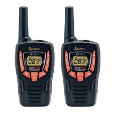 2 X Doble cobra AM645 Walkie Talkies 8 km de largo alcance