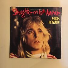 MICK RONSON. slaughter on 10th ave. HARD ROCK GLAM LP