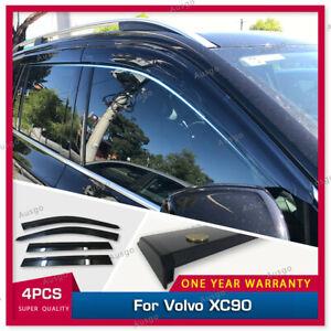 AUS Original Injection Weather Shields Weathershields For Volvo XC90 2015+ #T