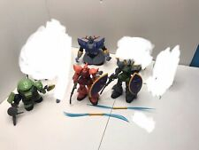Gundam Action Figure Lot 4 Figures