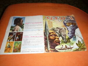 ALBUM  DI  FIGURINE  AFRICA  COMPLETO  1964   EDIZIONI  ITALIA  MISSIONARIA