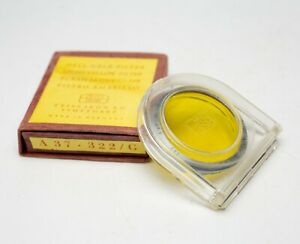 EX+! Zeiss Ikon Light Yellow G 2x Filter 322 A37 Slip On 37mm for Super Ikonta