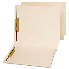 Universal End Tab Folders Two Fasteners Letter Manila 50/Box 13120