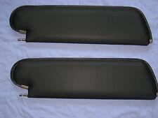 Skylark Black Sun Visors 1978-1988 GM G Body Malibu Cutlass El Camino PAIR