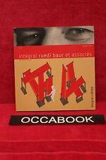Intégral Ruedi Baur et associés (1 livre + 1 CD-Rom) - livre occasion