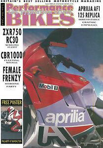VF750R RC30 ZX750-H1 CBR1000F Aprilia AF1 125 888 CR500 Honda NX650 Dominator CR