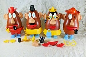 Vintage Mr. Mrs. Potato Head Lot 1970-80's Bodies & Accessories