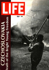 LIFE MAGAZINE AUG 30, 1968 THE END OF THE PRAGUE SPRING IN CZECHOSLOVAKIA_MAFIA