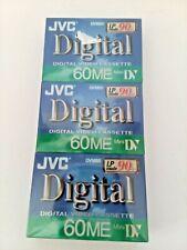New JVC Mini DV Digital Video Cassette 60ME DVM60 Made in Japan