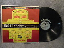 33 RPM LP Record Burlives Weavers Hootenanny Jubilee Camary Records CA 3028 S