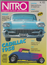 NITRO N°102  Magazine de l'auto extraordinaire  Cadillac 1958 -Batmobile, Chevy