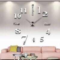 Large DIY Quartz Wall Clock Movement Hands Mechanism Repair Parts Tool Kit