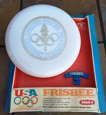 1975 Frisbee Flying Disc US Olympic Sports Game 100 (130 Grams) Wham-O NOS