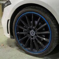 Felgen Streifen Aufkleber Blau für 18 Zoll Sticker Auto Räder Reifen Umrandung