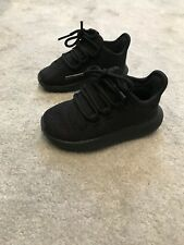 Adidas Tubular Yeezy Negro Bebé Niño Niña Zapatillas Size UK 5 EUR 21