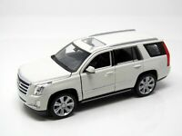 Modell 1:24 Cadillac Escalade, weiss 2017 SUV   Welly 24084