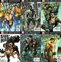 Sub-Mariner Set Namor Avengers Fantastic Four Initiative Michael Turner 1-6 NM