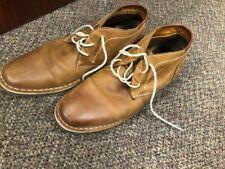 Steve Madden Brown Leather Chukka Boot Men's size 8.5 P-Ivon 217