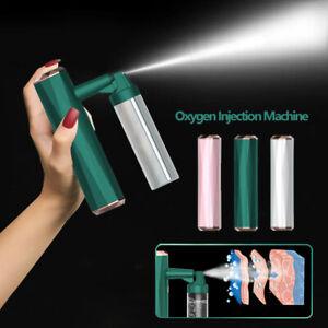 Rechargeable Nano Facial Steamer Sprayer USB Humidifier Face Oxygen Injection