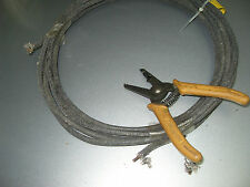 #12AWG  Western Electric Cloth Wire Thick Solid Copper wire 5.9M ( #584 )
