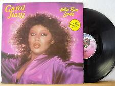 "12"" Maxi - CAROL JIANI - Hit´n Run Lover 8:10 min - FRANCE 1981"