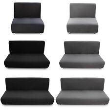 Fundas de sofá Elastica Ajustable para sofás Cama Clic-Clac Brazos de madera