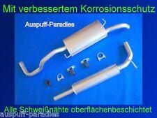 Abgasanlage Auspuff VW Polo III 1.4 16V & 1.6 Classic & Variant / Kombi + Kit