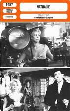 FICHE CINEMA : NATHALIE - Carol,Auer,Piccoli,Christian-Jaque 1957