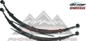 """FRONT LEAF SPRINGS 2"""" LEVELING LIFT 99-04 FORD F250/ F350 EXCURSION 4x4 (PAIR)"""