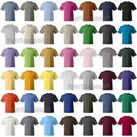 Hanes Mens Beefy T-Shirt 100% Cotton Tee sizes 2XL 3XL 4XL 5XL 40 Colors 5180