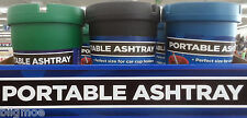 New Ashtray Portable Fits Golf Cart / Car Cup Holders Cigarette Reduce Odor Smok