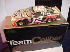 2001 JEREMY MAYFIELD #12 MOBIL ONE 1/24 OWNERS GOLD TEAM CALIBER CAR