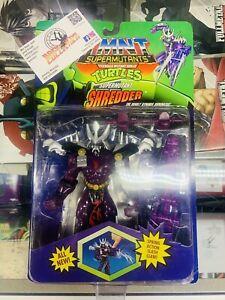 Teenage Mutant Ninja Turtles TMNT Supermutants Shredder Playmates 1994 HTF!!!