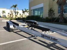 New Aluminum Boat Trailer Tandem 10000 Lbs Torsion Axles for 25-27Ft Boats
