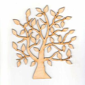 Lebensbaum Baum aus Holz 18 cm Jubiläum Geburtstag Basteln Hochzeit Geschenkidee