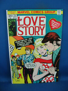 OUR LOVE STORY 25 F VF 1973