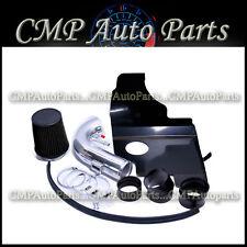 BLACK HEATSHIELD AIR INTAKE KIT FIT 2011-2014 FORD MUSTANG GT BOSS 5.0L V8
