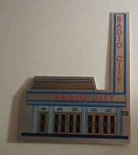 Radio City Music Hall Christmas Sleigh Candle Holder MIB