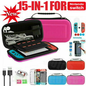 For Nintendo Switch Case Bag Travel Carrying Screen Protector Cover Accessories