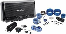 Rockford Fosgate Prime R600X5 600W RMS 5-Channel Car Amplifier + Amp Kit + RCA's
